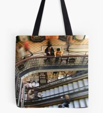 People Watching Tote Bag