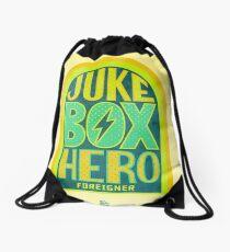 Foreigner Juke Box Hero Drawstring Bag