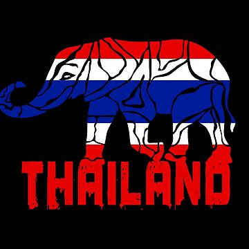Thailand elephant flag gift by Rocky2018