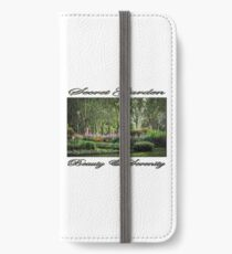 Secret Garden, Beauty & Serenity iPhone Wallet/Case/Skin