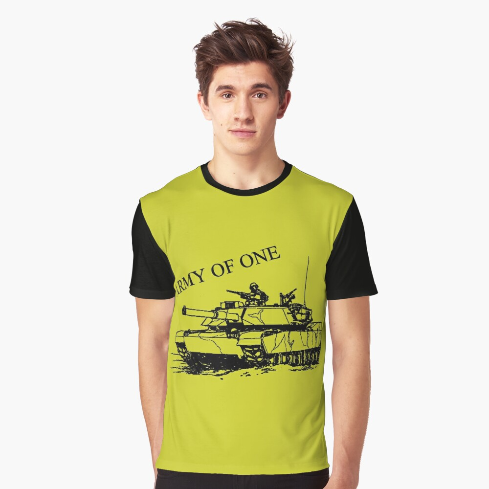 Army Of One Graphic T-Shirt