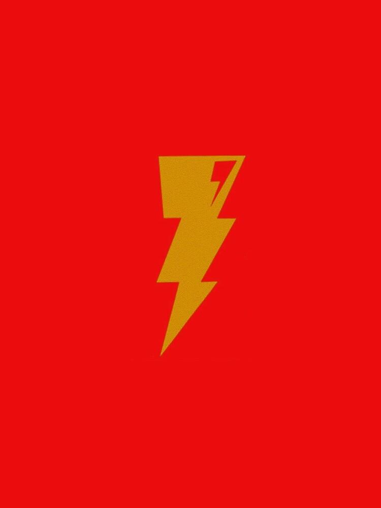 Gold Bolt of Lightning by teesbyveterans