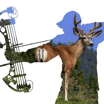 Elk Hunter- Female - Bow Hunter by cstronner