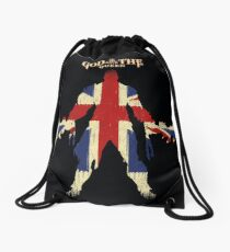 God save the queen Drawstring Bag