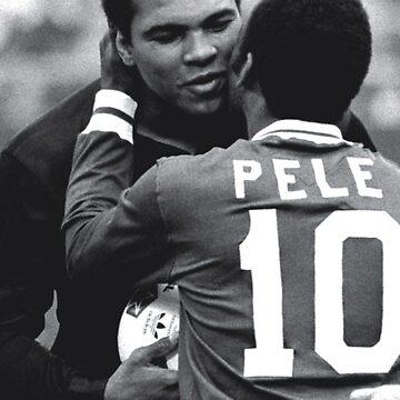 Pele, Muhammad Ali by opngoo