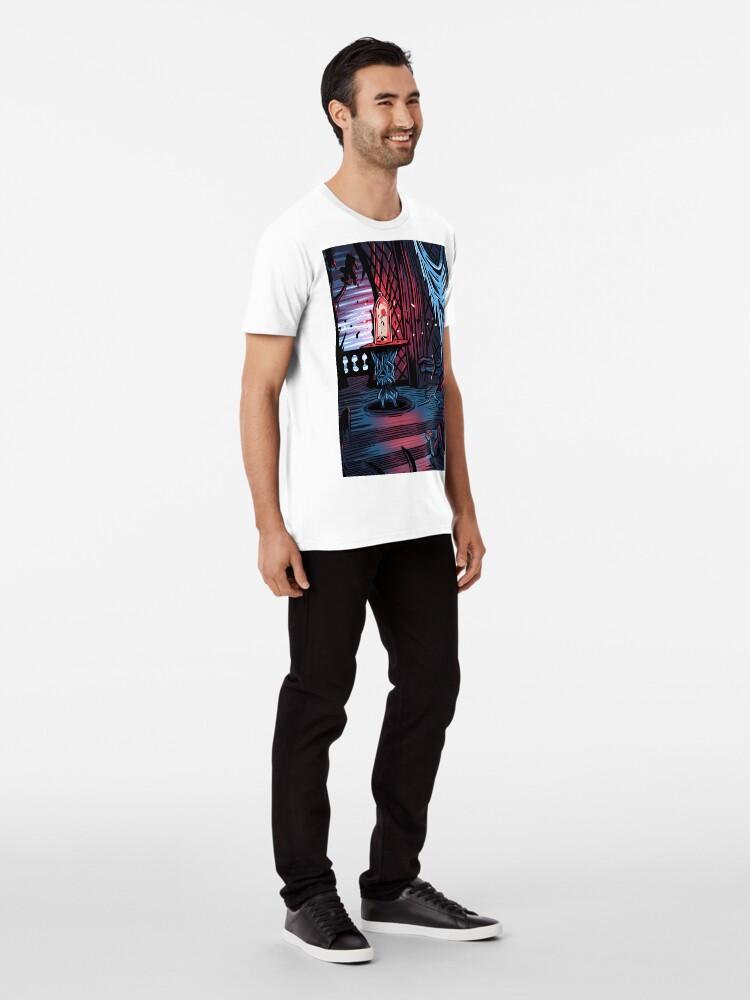 Alternative Ansicht von Der Verbotene Westen Flügel Premium T-Shirt