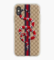Snake pattern iPhone Case