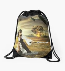 The Steampunk Warrior  Drawstring Bag
