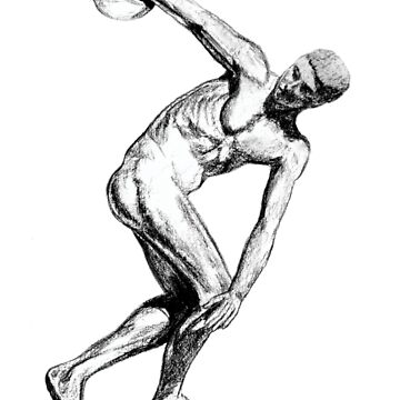 Ancient Greece - The Discus Thrower by robertemerald