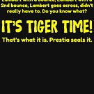 Tiger Time - Richmond 2017 Black by conTEXTed possessions