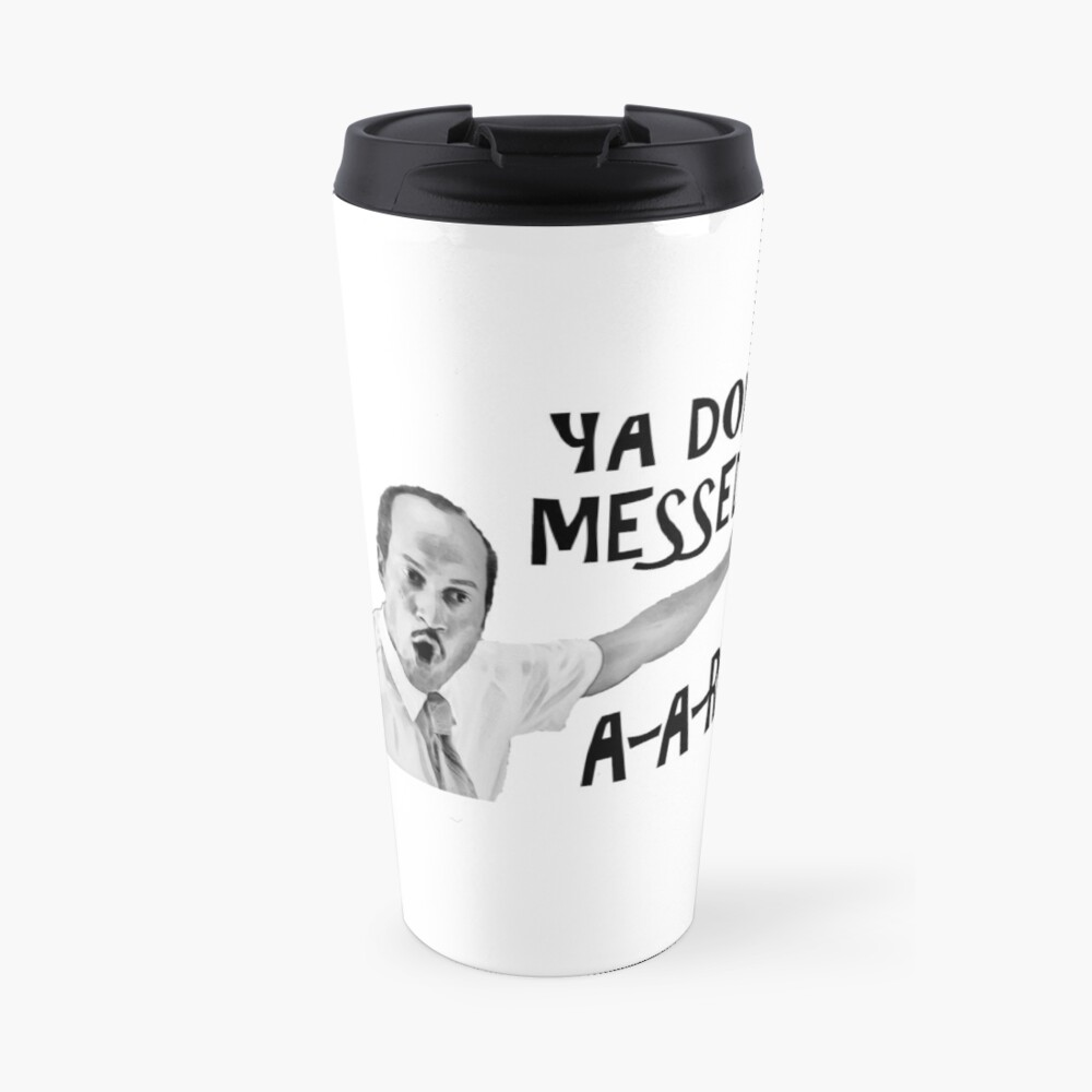 You Done Messed Up Aaron Travel Mug