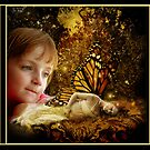 Gazing Fairy Delight ... by Amber Elizabeth Fromm Donais