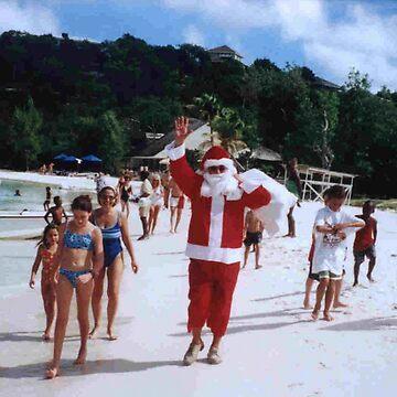 Caribbean Santa Claus by JohnDalkin