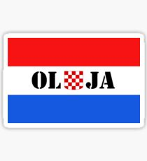 Croatia Victory Day attire OLUJA Sticker