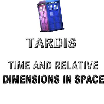 Time And Relative Dimensions In Space by AryaDaeriel