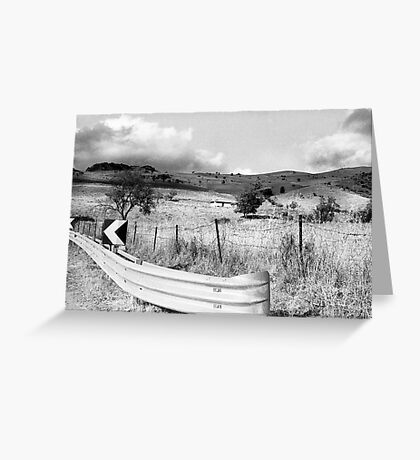 Keep On The Left Side Greeting Card