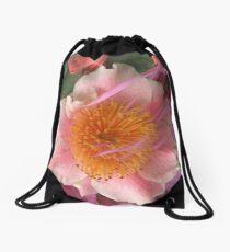 Camellia Drawstring Bag