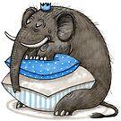 Elefant - Sleeping Beauty - Dornröschen von JunieMond