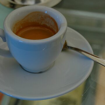 First Cup Of Espresso Upon Arriving In Venice... Heavenly! by Ainsleyrk