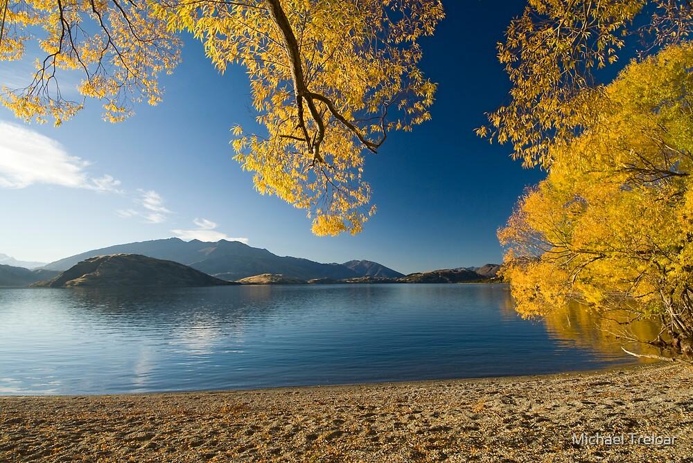 Quot Lake Wanaka Autumn Quot By Michael Treloar Redbubble