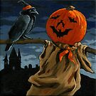 Scare-Crow by LindaAppleArt
