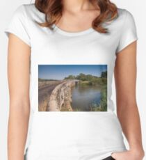 Greatham Bridge Women's Fitted Scoop T-Shirt
