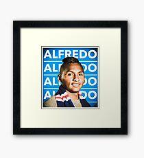 Glasgow Rangers Alfredo Morelos Framed Print