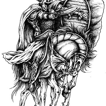 Odin Viking Warrior on Horse by itsmwaura