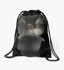 Spiritual Angel Drawstring Bag