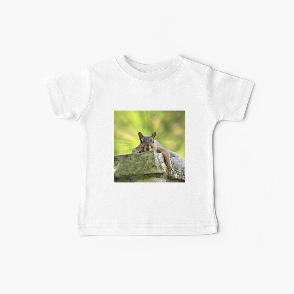 Relaxed Squirrel Baby T-Shirt