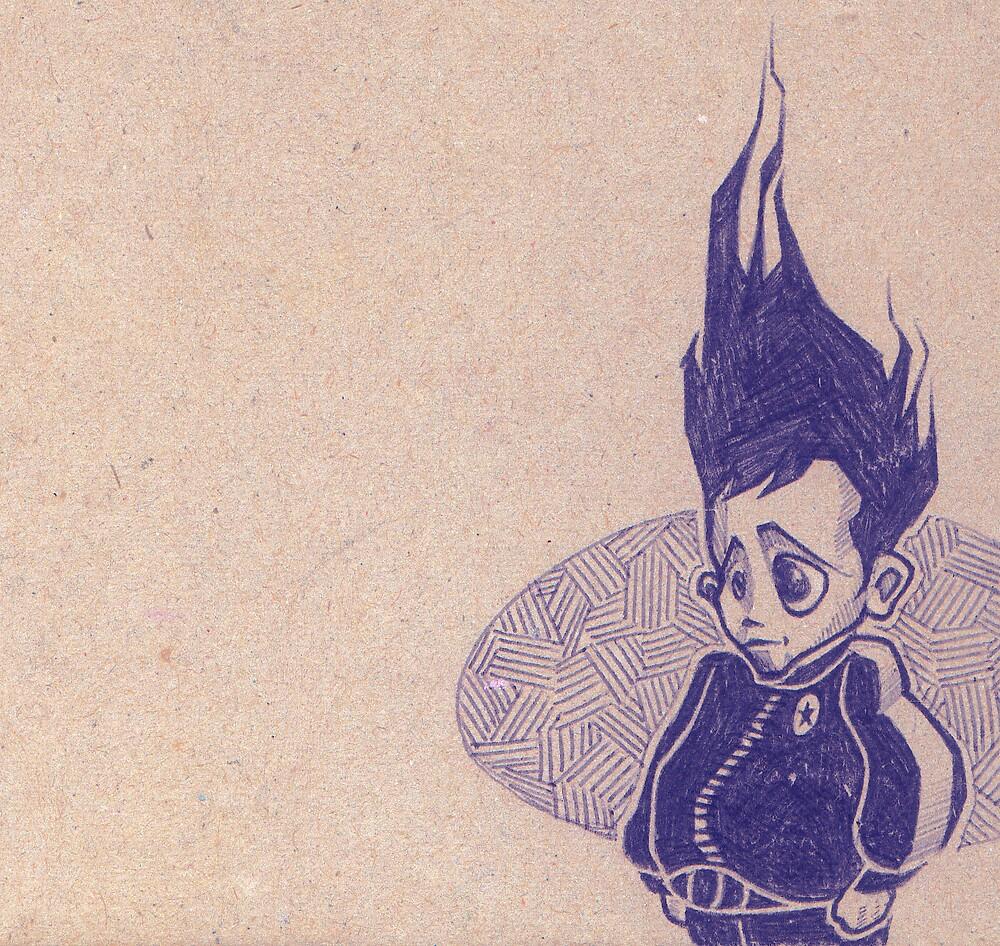 little biro boy by antony hamilton
