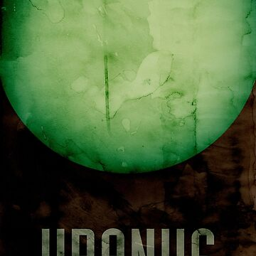 The Planet Uranus by ArtPrints