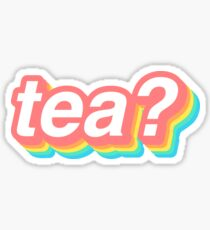 tea? Sticker
