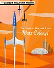 Mars Colony by Charles Davenport
