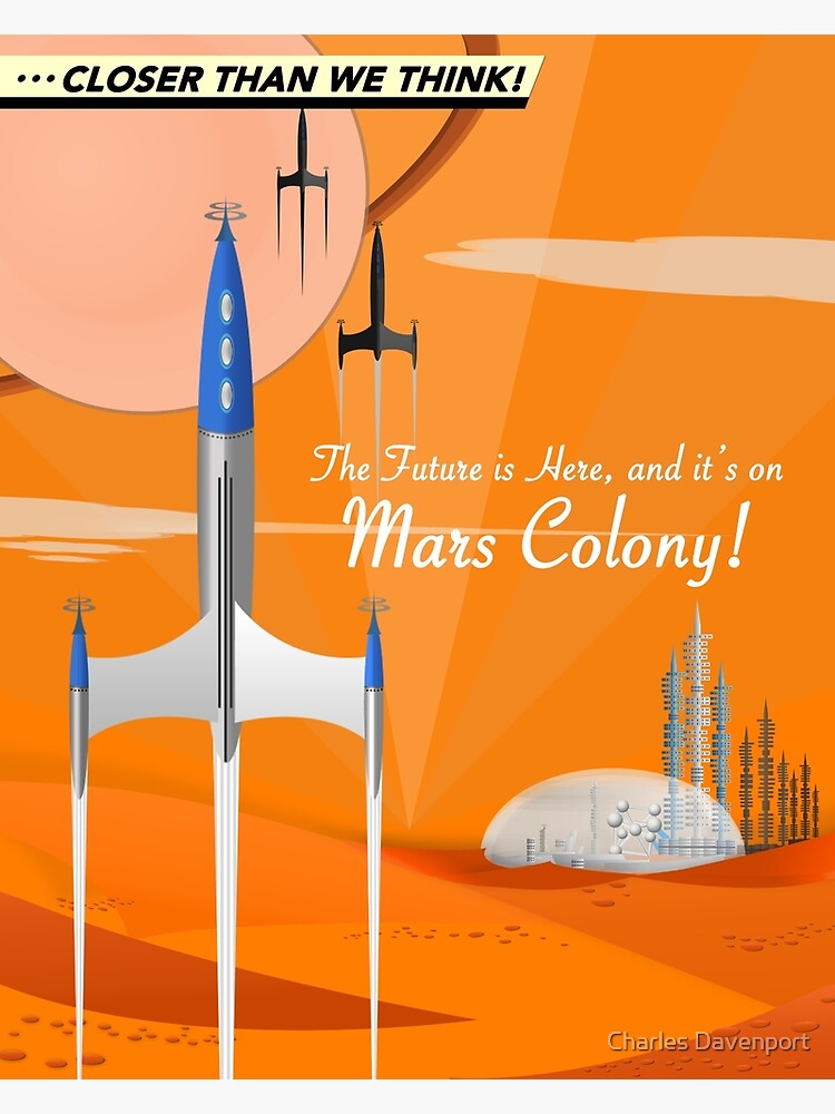 Mars Colony by cdavenport4