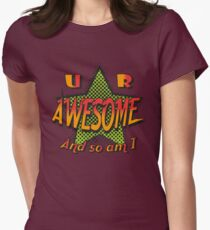 U R Awesome Women's Fitted T-Shirt