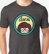 Daria (yellow background) Unisex T-Shirt