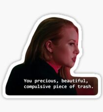 cherly blossom Sticker