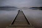 Lake Hauroko. by Michael Treloar