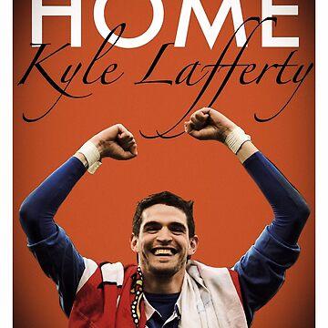 Glasgow Rangers Kyle Lafferty by trueblueapparel