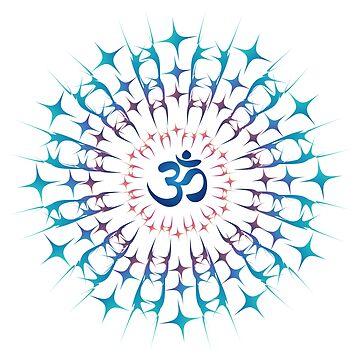 Indian Sri Yantra Mandala by amelislam