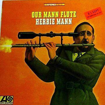 Herbie Mann, Our Mann Flute, jazz, spy, flute by Vintaged
