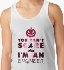 Ingenieur Kürbis Halloween Geschenk Geschenkidee Tanktop für Männer