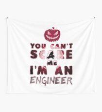 Ingenieur Kürbis Halloween Geschenk Geschenkidee Wandbehang