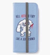 Hell Hoth No Fury... iPhone Wallet/Case/Skin