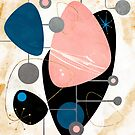 Mid Century Pebbles by spacefrogdesign