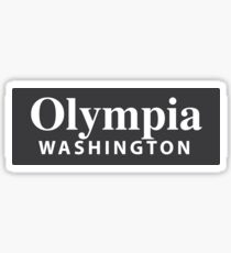 Olympia, Washington Sticker