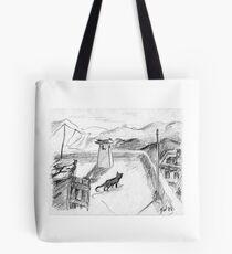 El gato negro · Alpujarras · Sierra Nevada · Granada · Spain Bolsa de tela
