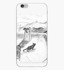 El gato negro · Alpujarras · Sierra Nevada · Granada · Spain Vinilo y funda para iPhone