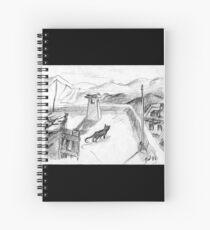 El gato negro · Alpujarras · Sierra Nevada · Granada · Spain Cuaderno de espiral